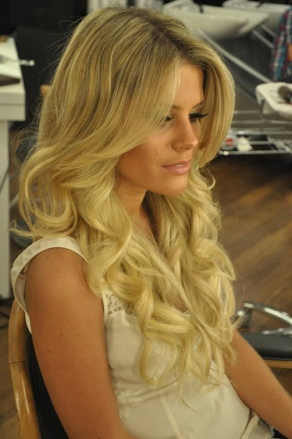 Glamour Wedding Hairstyles ? Long Shiny Curls Wedding Hair #804044 inside Long Hairstyles Glamour