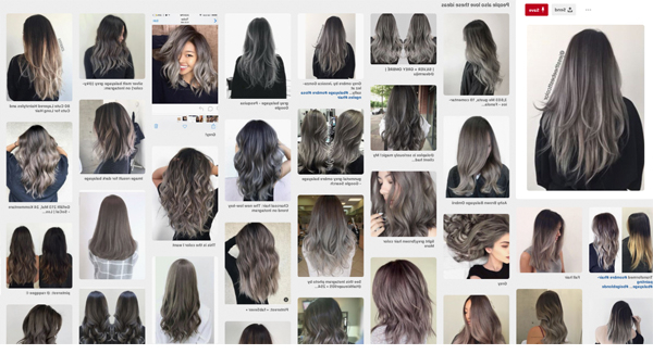 Going From Black To Blonde And How Hard It Is – She'said' Throughout Long Dark Hairstyles With Blonde Contour Balayage (View 24 of 25)