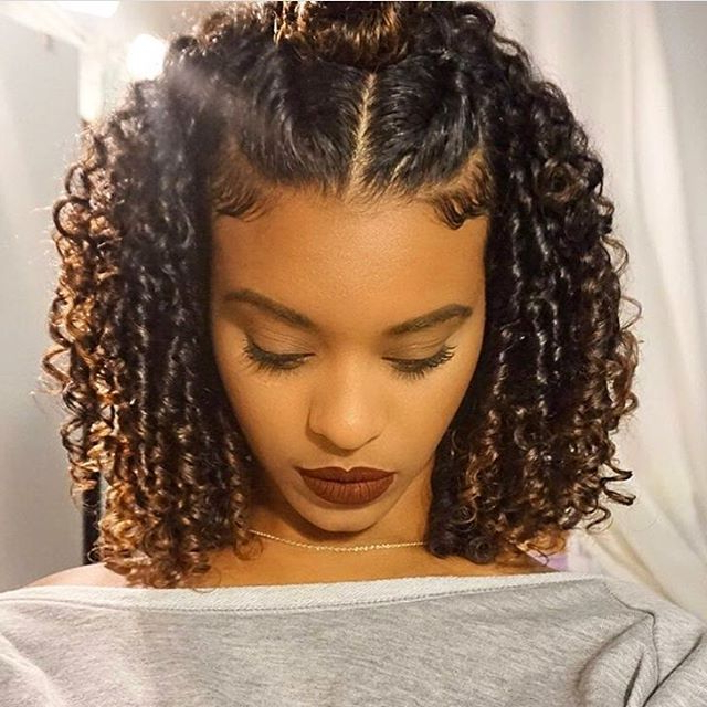 Good Hairstyles For Long Naturally Curly Hair – Short Curly Hair In Long Hairstyles Natural (View 11 of 25)
