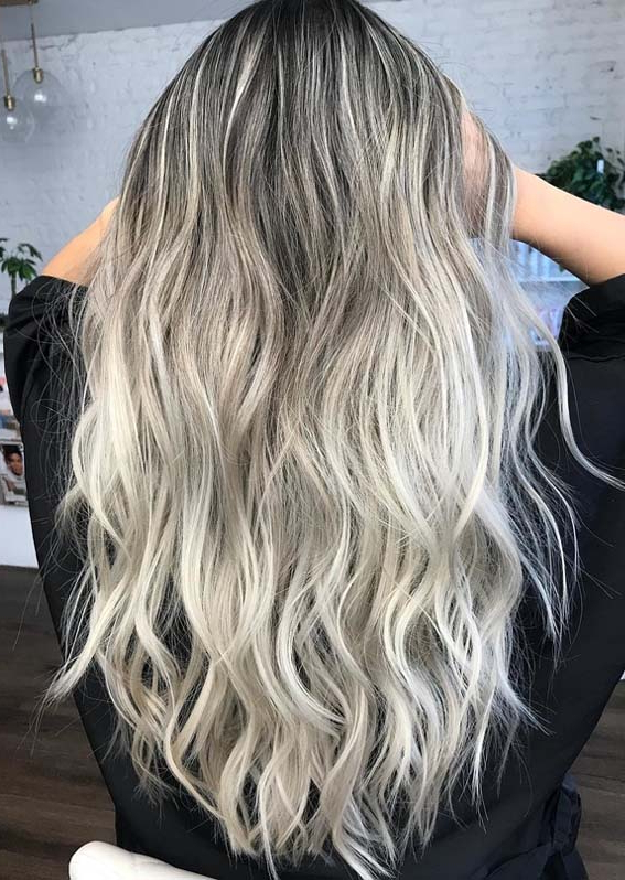 Gorgeous Ash Blonde Hair Color Highlights For Long Hair In 2018 With Regard To Highlights For Long Hair (View 11 of 25)