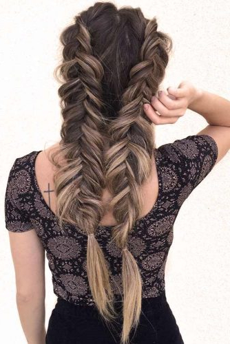 Gorgeous Ideas Of Dutch Braid Hairstyles 2018 – My Stylish Zoo Intended For Braids For Long Thick Hair (View 24 of 25)