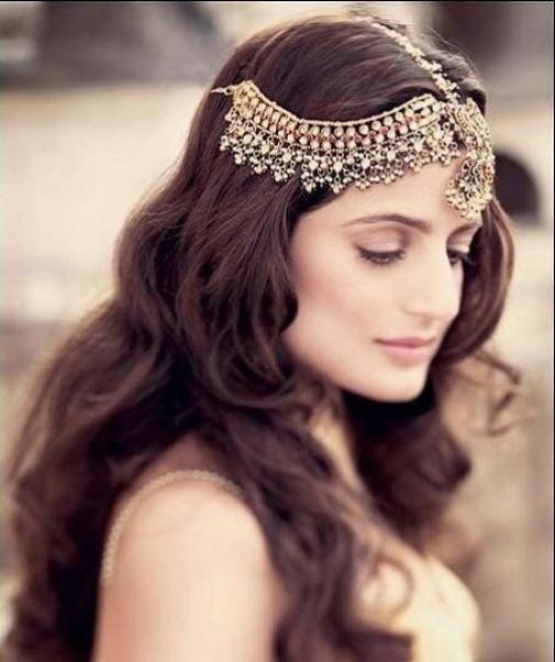 Gorgeous Indian Wedding Long Hairstyles | Kavita Mohan In Indian Wedding Long Hairstyles (View 10 of 25)