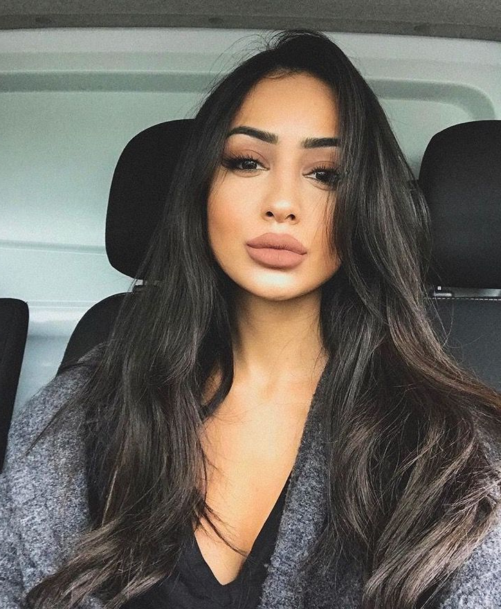 Gorgeous Long Dark Hair | Long Gorgeous Hair? In 2019 | Hair Styles In Long Hairstyles Dark Hair (View 5 of 25)