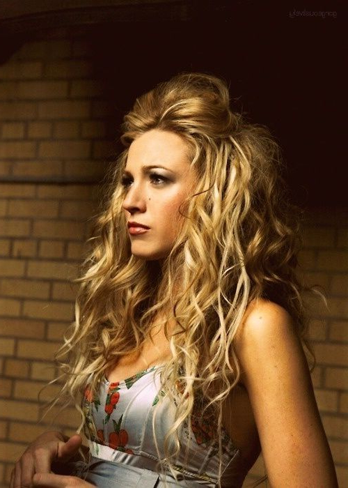 Gorgeous Messy Hairstyles For Curly Hair - Hair World Magazine pertaining to Long Hairstyles Half Pulled Back