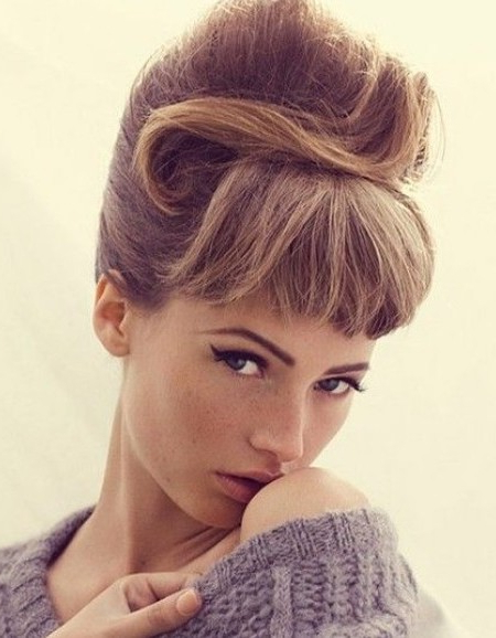 Gorgeous Retro Updo Hairstyles | Haircuts, Hairstyles 2019 And Hair Inside Vintage Updos Hairstyles For Long Hair (View 24 of 25)
