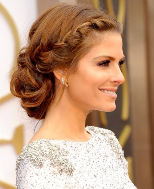 Graceful And Beautiful Low Side Bun Hairstyle Tutorials And Hair For Side Bun Prom Hairstyles With Black Feathers (View 8 of 25)