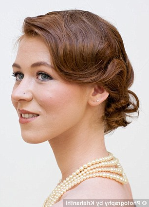 Great Gatsby Fever! Give Your Hair A Roaring Twenties Twist With In Flowing Finger Waves Prom Hairstyles (View 25 of 25)