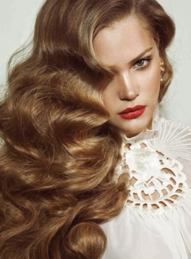Great Long Hairstyles - Beauty Riot with regard to Old Hollywood Long Hairstyles