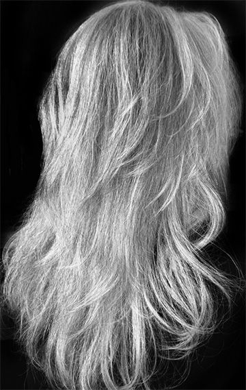 Great Silvery Gray Color, I Would Love To Grow My Hair This Length with regard to Long Hairstyles Grey Hair
