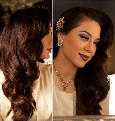 Great Vintage Long Hairstyles For Prom | Full Dose With Long Hairstyles Vintage (View 8 of 25)
