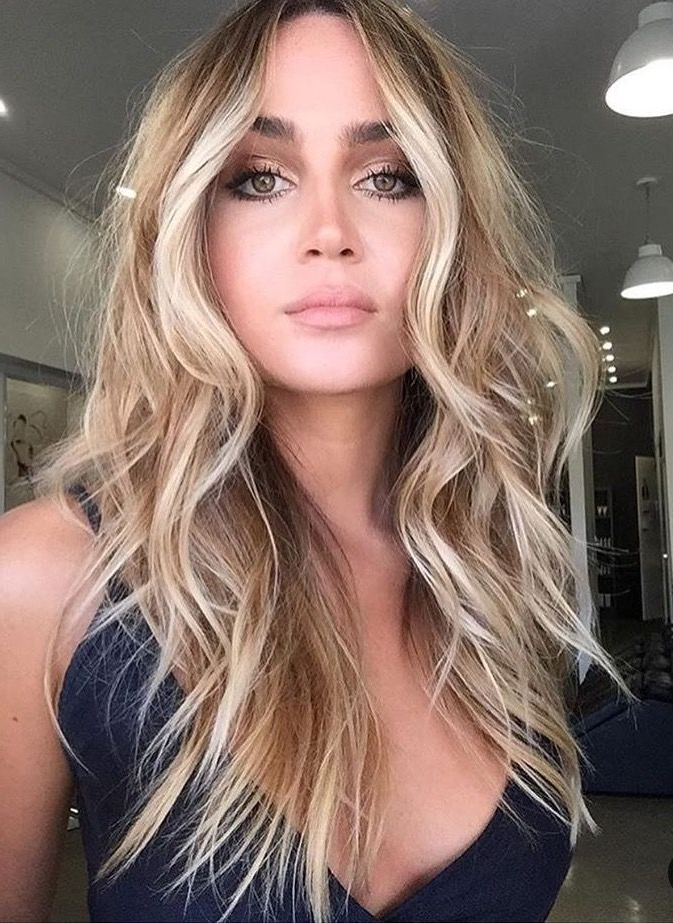Green, Gray Eyes | H A I R | Hair Contouring, Hair Styles, Balayage Hair Pertaining To Long Dark Hairstyles With Blonde Contour Balayage (View 11 of 25)