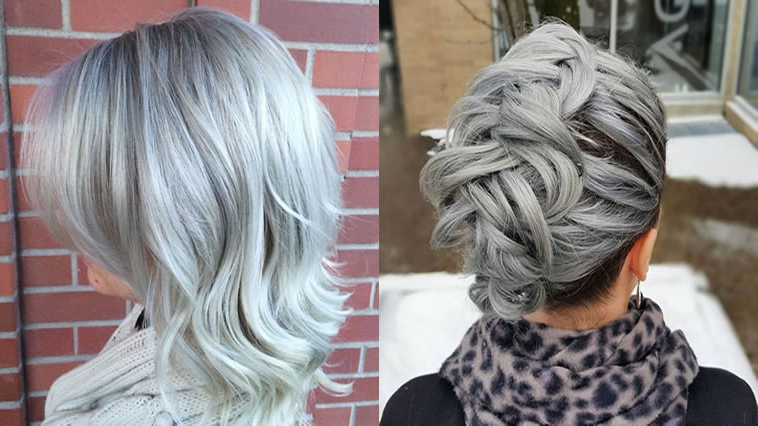 Grey Hair Trend – 20 Glamorous Hairstyles For Women 2018 – Hairstyles In Long Hairstyles For Grey Hair (View 15 of 25)