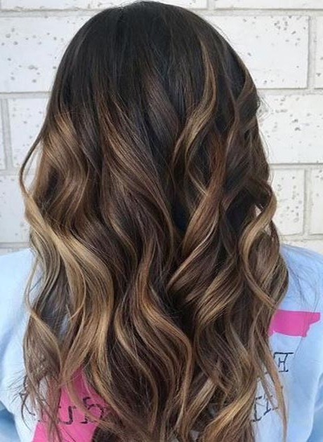 Hair Color Idea For Long Hairstyles 2018 | Ideas For Fashion Inside Long Hairstyles With Color (View 12 of 25)
