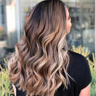 Hair Color Trends 2019 – The 15 Best New Dye Job Ideas | Allure Intended For Long Hairstyles With Color (View 19 of 25)