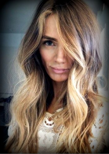 Hair Contouring – Peluqueria Mayte Innova Stilista Imagin´hair Inside Long Dark Hairstyles With Blonde Contour Balayage (View 4 of 25)