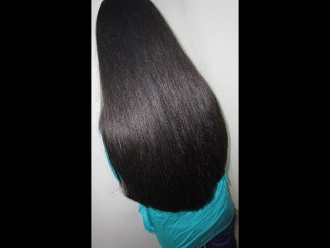 """Hair Cut – Basic """" U """" Shape With Super Straight Blow Dry – Youtube Within Long Hairstyles U Shaped (View 20 of 25)"""