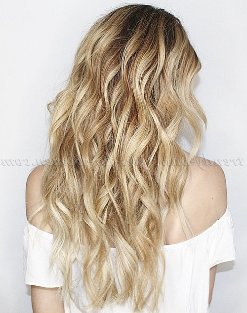 Hair Down Hairstyles | Page 91 Of 125 | Trendy Hairstyles For Women In Long Hairstyles Beach Waves (View 6 of 25)