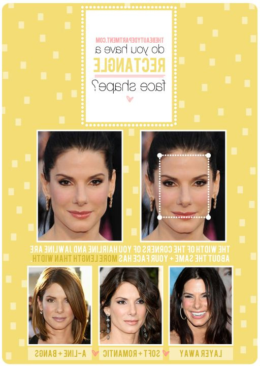 Hair Talk: Rectangle Face Shape | Face Charts | Face Shape With Long Hairstyles Rectangular Face Shape (View 4 of 25)