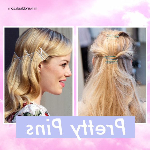 Hair Trend: Bobby Pin Hairstyles | Hair Extensions Blog | Hair Intended For Long Hairstyles Using Bobby Pins (View 18 of 25)