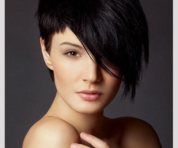 Haircut Female Short One Side Long The Other – Google Search | Hair For One Side Short One Side Long Hairstyles (View 6 of 25)