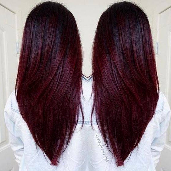 Hairstyle Colours For Long Hair – Curlyhairstyle (View 16 of 25)