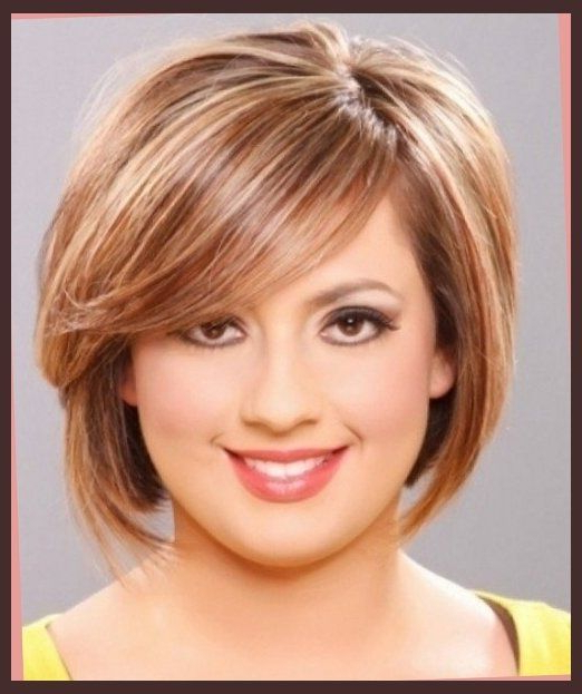 Hairstyle For Round Face And Double Chin Short Haircuts For Women With Regard To Long Hairstyles For Fat Faces And Double Chins (View 6 of 25)