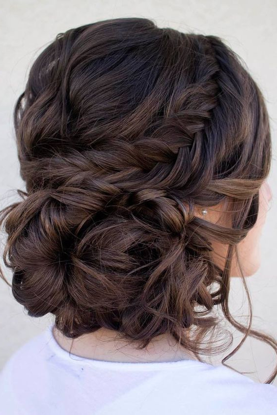 Hairstyle For Short Hair For Wedding Party Within Long Hairstyles For Wedding Party (View 18 of 25)