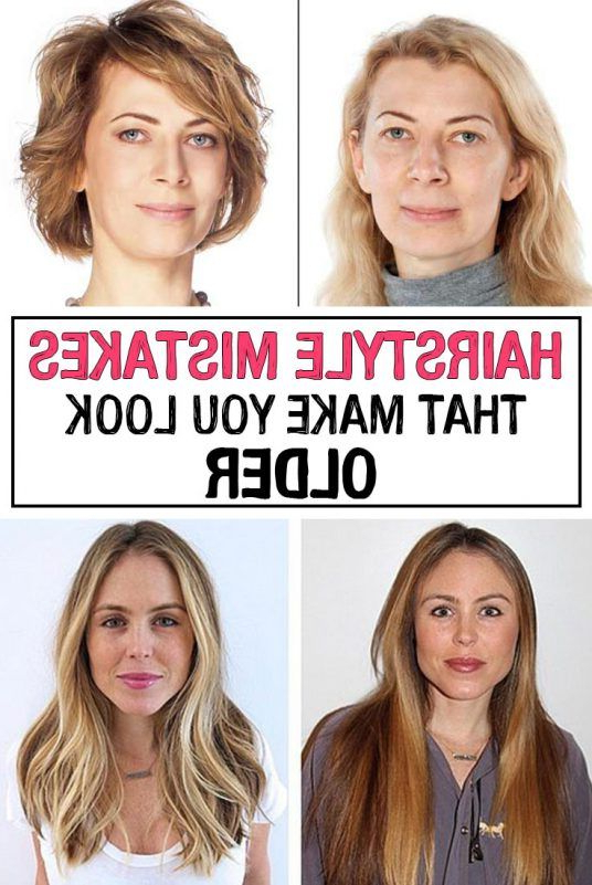 Hairstyle Mistakes That Make You Look Older | Fitness | Hair Styles Throughout Long Hairstyles To Make You Look Older (View 13 of 25)