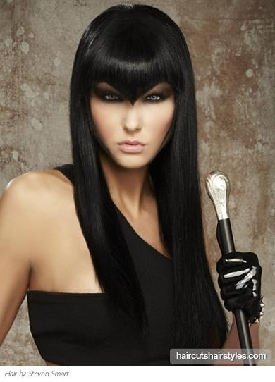 Hairstyles : Edgy Long Haircuts With Bangs Hairstyless With Edgy Long Haircuts With Bangs (View 21 of 25)