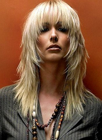Hairstyles For Bangs Beautiful 25 Best Ideas About Long Choppy Intended For Choppy Long Hairstyles (View 13 of 25)