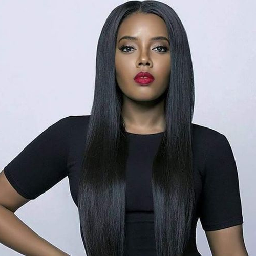 Hairstyles For Black Women Long Hair – Hairstyles For Long Hair In Black Female Long Hairstyles (View 3 of 25)