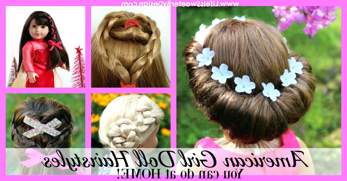 Hairstyles For Dolls Long Imposing Girl Stephair Easy With Curly Throughout Cute Hairstyles For American Girl Dolls With Long Hair (View 24 of 25)