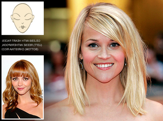 Hairstyles For Heart Shaped Faces – Do's And Dont's Intended For Long Hairstyles Heart Shaped Face (View 21 of 25)