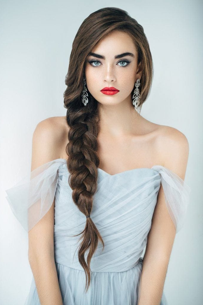 Hairstyles For Long Brown Hair: 16 Unique Looks To Try With Long Hairstyles Unique (View 14 of 25)