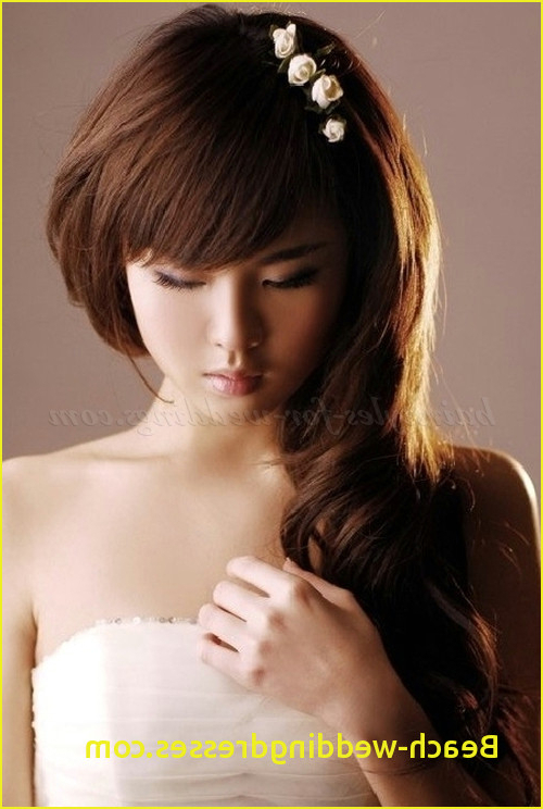 Hairstyles For Long Hair For A Wedding Bridesmaid Hairstyles Down With Long Hairstyles Down Straight (View 19 of 25)