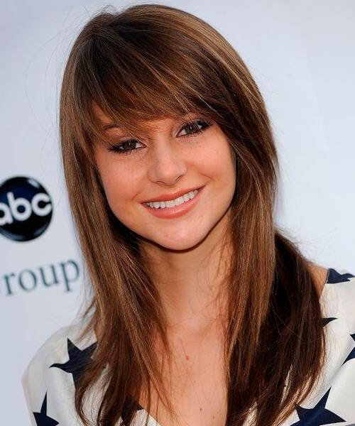 Hairstyles For Long Hair For Long Haircuts Styles With Bangs (View 6 of 25)