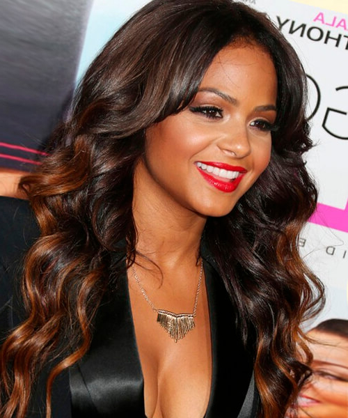 Hairstyles For Long Hair Inside Long Hairstyles For Black Females (View 14 of 25)