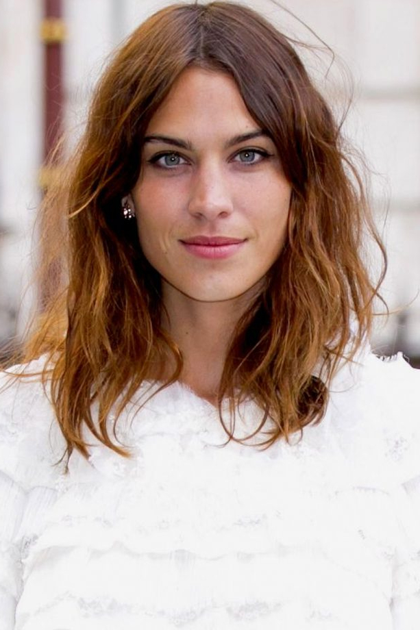 Hairstyles For Medium Length Hair 2019 To Take Straight To The Salon Pertaining To Long Hairstyles Without Fringe (View 13 of 25)