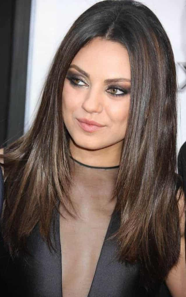Hairstyles For Oval Faces 2018 – Womenstyle | Hairstyles | Long Pertaining To Mila Kunis Long Hairstyles (View 23 of 25)