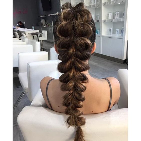 Hairstyles For Prom 2019: 9 Class – Obsigen For Braid Spikelet Prom Hairstyles (View 25 of 25)