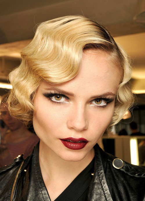 Hairstyles For Short Wavy Hair – Women Hairstyles Throughout Flowing Finger Waves Prom Hairstyles (View 13 of 25)