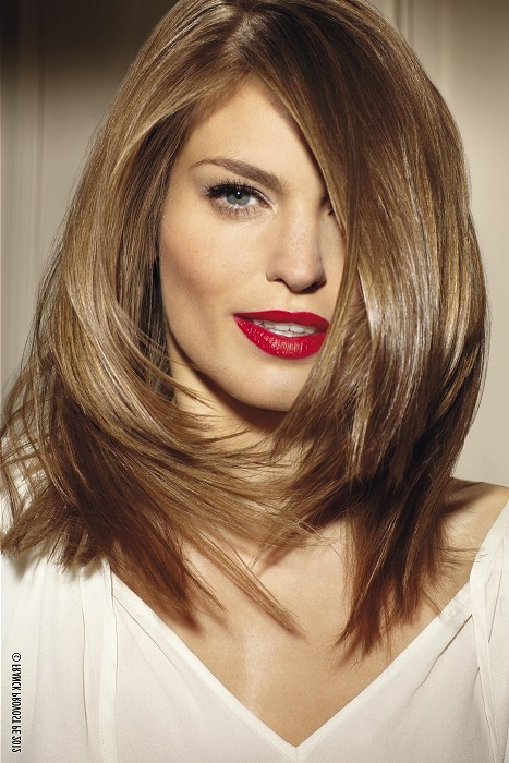 Hairstyles For Square Faces For Best Long Haircuts For Square Faces (View 13 of 25)