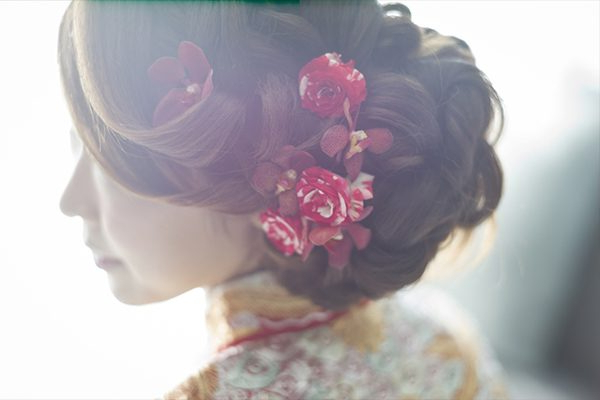 Hairstyles For Traditional Chinese Wedding – Vanitee Beauty Trends Within Side Bun Prom Hairstyles With Orchids (View 21 of 25)
