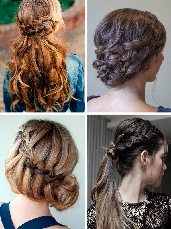 Hairstyles For Valentine's Day 2018 – Modaellas Pertaining To Dishevelled Side Tuft Prom Hairstyles (View 17 of 25)