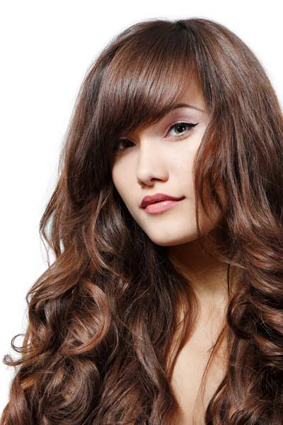 Hairstyles For Wavy Thick Hair With Bangs For Long Haircuts For Wavy Thick Hair (View 25 of 25)