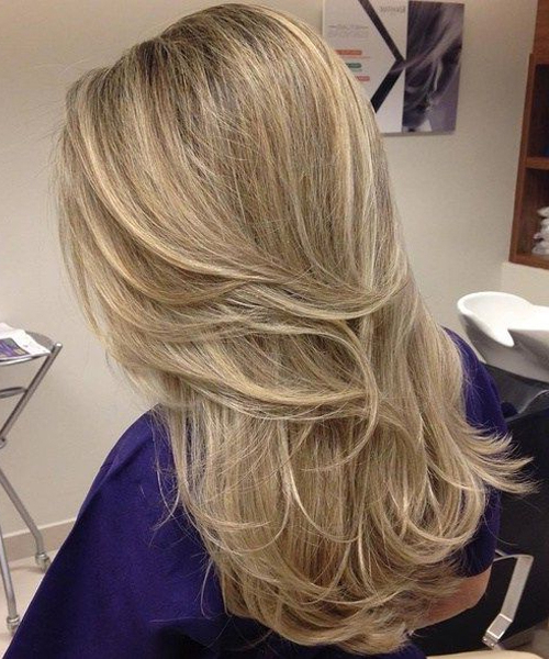 Hairstyles For Women With Long Hair No Layers Back View | Hairstyles Within Long Hairstyles Layers Back View (View 24 of 25)