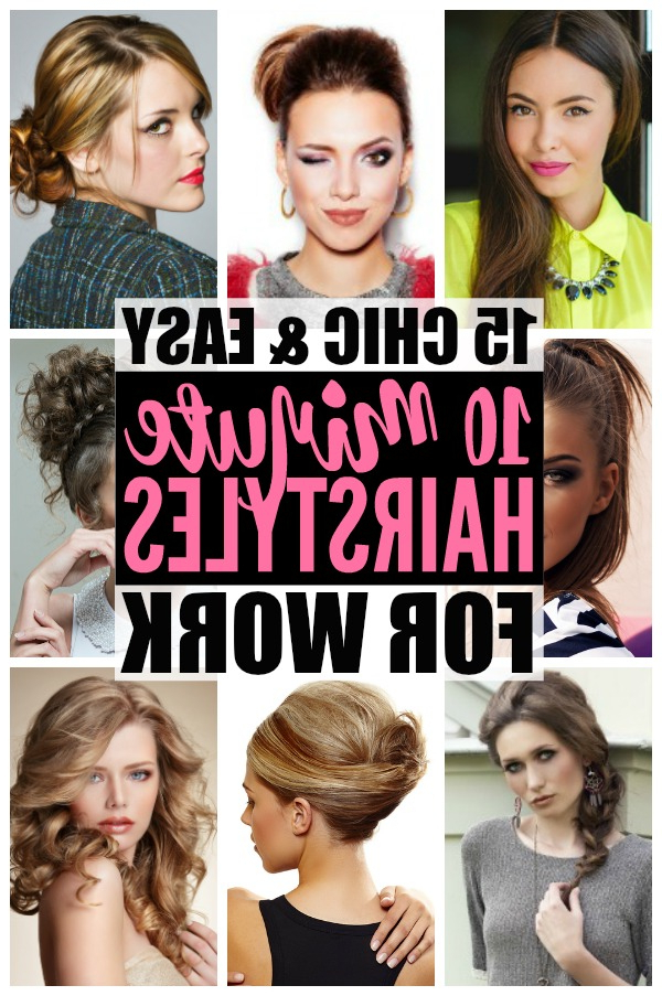 Hairstyles For Work: 15 Easy Hairstyles For Hectic Mornings Regarding Long Hairstyles For Work (View 16 of 25)