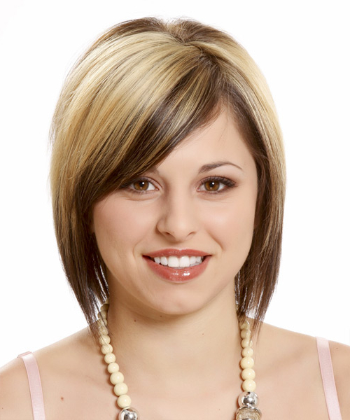 Hairstyles For Your Round Face Shape: Short, Medium & Long Intended For Long Hairstyles Shaped Around Face (View 24 of 25)