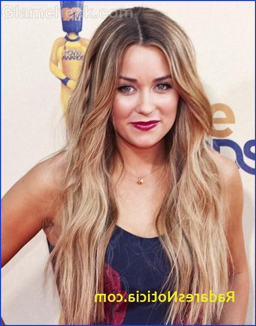 Hairstyles Hair Split Down Middle Long Hairstyles Parted Down The Intended For Long Hairstyles Parted In The Middle (View 7 of 25)
