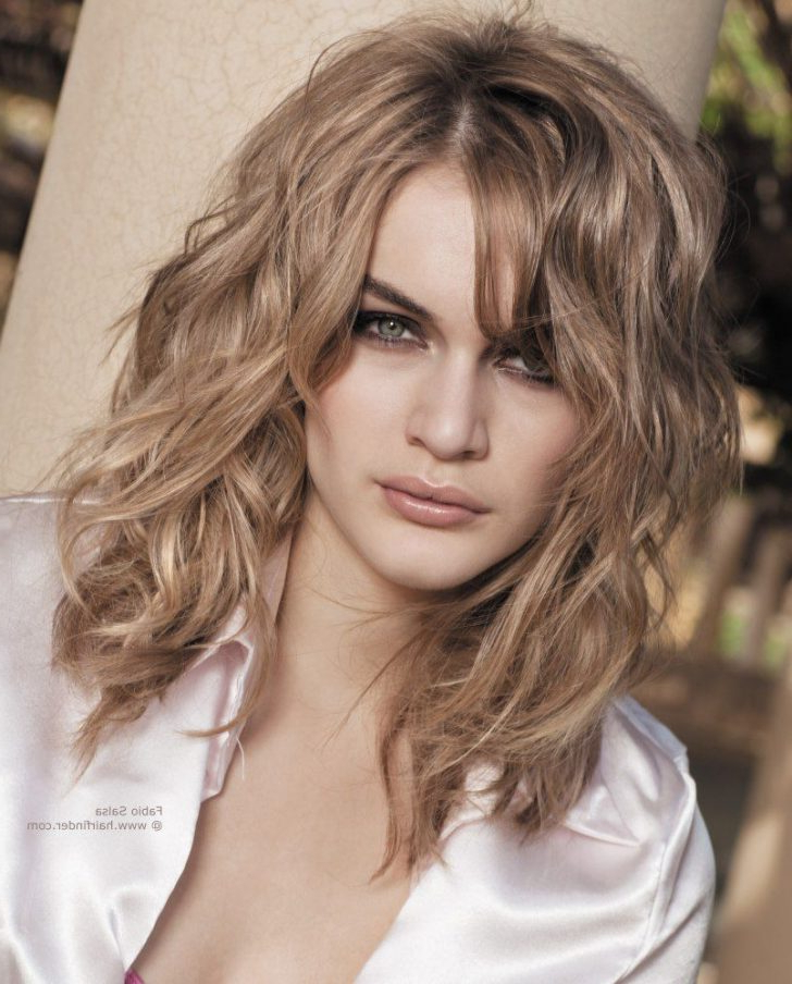 Hairstyles : Haircuts For Naturally Wavy Hair Hairstyles For Inside Long Hairstyles Naturally Wavy Hair (View 17 of 25)
